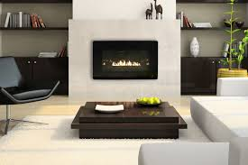 fireplace u0026 accessories contemporary ventless gas fireplace