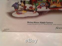 department 56 mickey mouse factory pole series