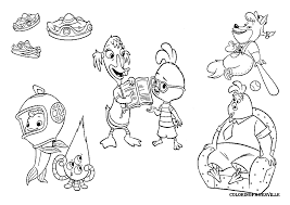 chicken little coloring pages omeletta me