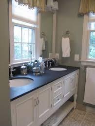 Blue Pearl Granite W White Cabinet Bathrooms Pinterest Blue - Black granite with white cabinets in bathroom