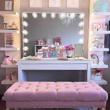 professional makeup stand diy vanity mirror with lights for bathroom and makeup station