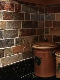 slate backsplash kitchen brown slate mosaic backsplash tile for traditional kitchen