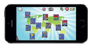 Central America Map Game by America Archives Qweenapps