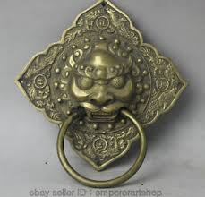 foo dog door knocker 7 brass door knocker foo fu dog guardion lion