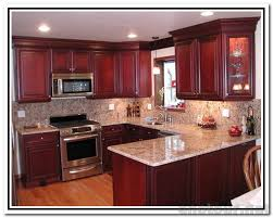 cherry kitchen ideas spectacular kitchen color ideas with cherry cabinets b88d in amazing