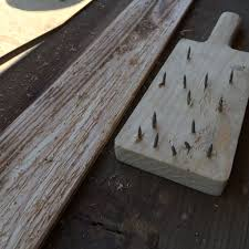 steel wool and vinegar wood aging ebonizing weathering a