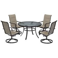 Garden Oasis Dining Set by Garden Oasis Miranda 5 Piece Dining Set