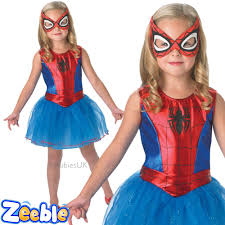 girls pink spider spiderman superhero childs book week fancy