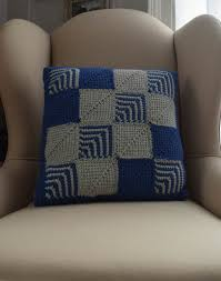 Free Cushion Crochet Patterns Free Tunisian Crochet Pattern Mitered Square Pillow Underground