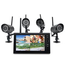 securial wireless home security dvr system 300m 4
