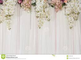 flower decorations beautiful flower wedding decoration stock photo image of