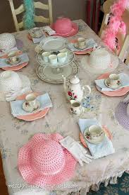 vintage shabby chic mad hatter tea party miss frugal fancy pants