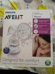 Philips Avent Manual Comfort Breast Pump Philips Avent Manual Breast Pump With Bottle Babyshoppe