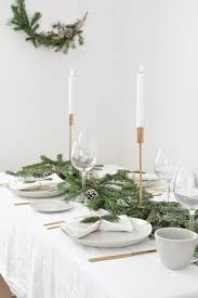 modern christmas how to create a modern christmas tablescape burkatron