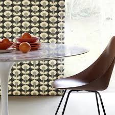 abacus flower olive by orla kiely made to measure roman blinds
