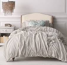 washed appliquéd fleur u0026 ikat bedding collection