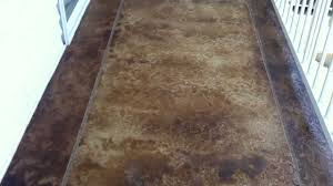 Concrete Staining Pictures by Acid Stained Concrete Painted Deck Patio Coating Osage Beach Lake