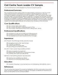 Team Leader Resume Format Bpo Team Leader Resume Lukex Co