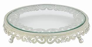 personalized cake plate wedding cake stand by riegel personalized wedding cake