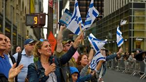 Giants Parade Route Map by Celebrate Israel Parade Steps Off In Manhattan On Sunday Newsday