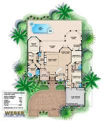 santa barbara home plan weber design group
