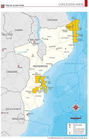 Zambia Africa Map by Maps Africa Page 1 The Oil U0026 Gas Year