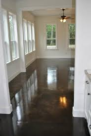 Basement Floor Stain by Best 25 Stained Concrete Ideas On Pinterest Outdoor Patio