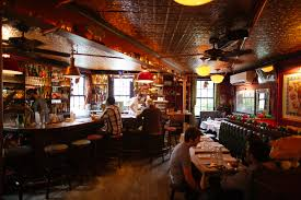 breslin bar and dining room the spotted pig west village new york the infatuation