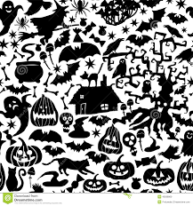 happy halloween vector set of cute colorful halloween doodles hand drawn stickers