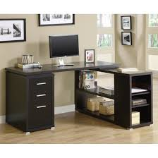 monarch specialties i7019 hollow core l shaped computer desk in