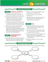 Cell Reproduction Concept Map Answers Cell Division And Mitosis Dna Sexual Reproduction And Meiosis 2