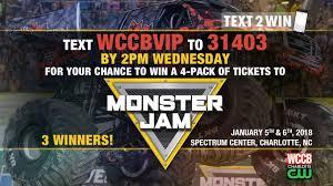 monster truck jam charlotte nc text2win monster jam tickets wccb charlotte