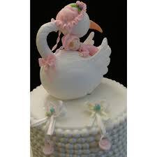stork cake topper stork with baby cake topper storks cake topper baby shower