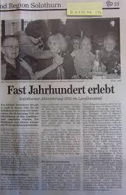 G Stige K Hen Landhausstil Alterszentrum Wengistein Solothurn Schweiz Pressearchiv