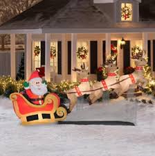 Outdoor Sleigh Decoration Jingle All The Way With These Outdoor Christmas Decorations