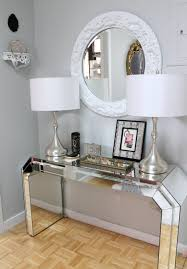 Entry Table Decor by Contemporary Foyer Furniture Home Design Ideas