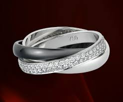 52nd wedding band cartier ring absolutely gorgeous with a great meaning