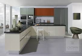 crown gloss or silk matt finish kitchens in kent