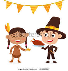 thanksgiving day book happy thanksgiving day greeting card stock vector 488845807
