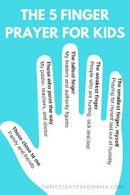 5 creative prayer ideas for centered
