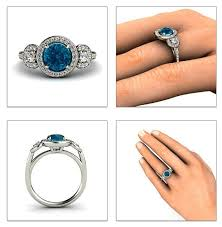 the bizz wedding band 30 best london blue topaz images on london blue topaz