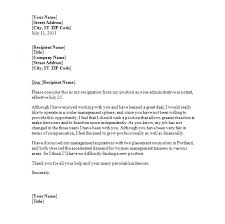 best photos of sample resignation letter template word
