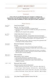 guest service agent resume samples visualcv resume samples database