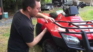 how to remove racks on a 2013 honda recon palomino shows ya how