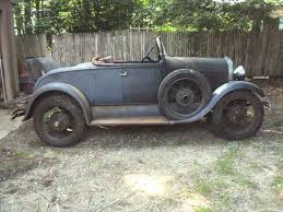 Barn Fresh Cars Find Used 1929 Model A Ford Roadster 6 Wheel Survivor Barn Fresh