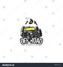 jeep adventure logo off road club logo vector illustration stock vector 596496365