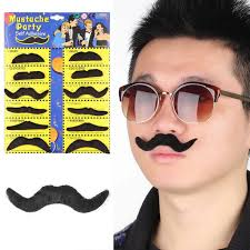 mustache party new 12pcs stylish costume party beard mustache party