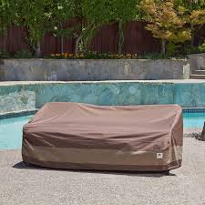 Loveseat Slipcover Amazon Com Duck Covers Ultimate Patio Loveseat Cover 54 Inch