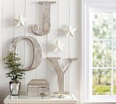 Pottery Barn Christmas Decorations Sale by Joy Letters Pottery Barn