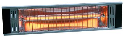 outdoor electric patio heaters heat storm tradesman outdoor 1500 watt electric mounted patio